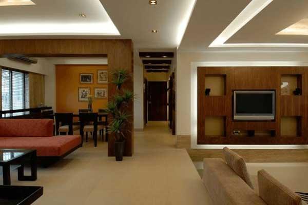 Gypsum Living Room Interiors